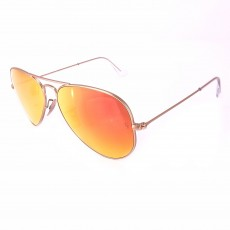 Óculos de sol RAY-BAN RB3025 AVIATOR LARGE METAL 12/69 55-14 2N