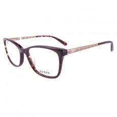 17e90f775665f Óculos de grau GUESS GU2500 052 53-16 135