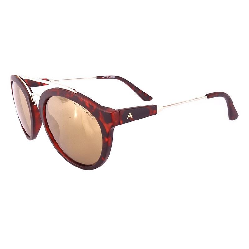 0b86668aa7a0e Óculos de sol ATITUDE AT5326 G22 54-22 145 3N