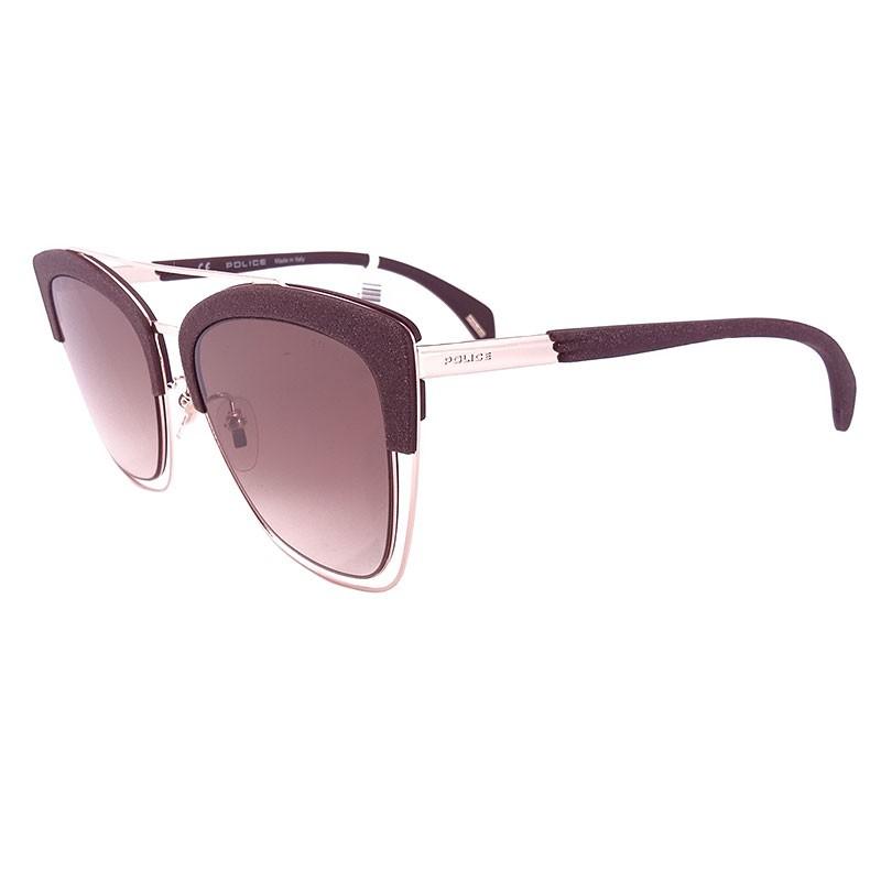 84b508d47c7c4 Óculos de sol POLICE SPARKLE 6 SPL618 54-19 COL.0A39 140